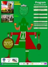FASCHING PREJMER 2015 - EDITIA a XI-a 15 Februarie 2015